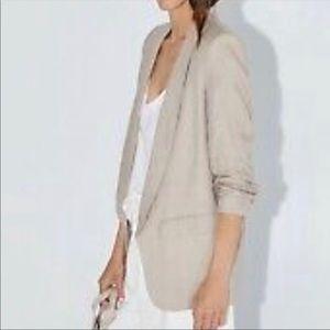 Zara linen blazer jacket
